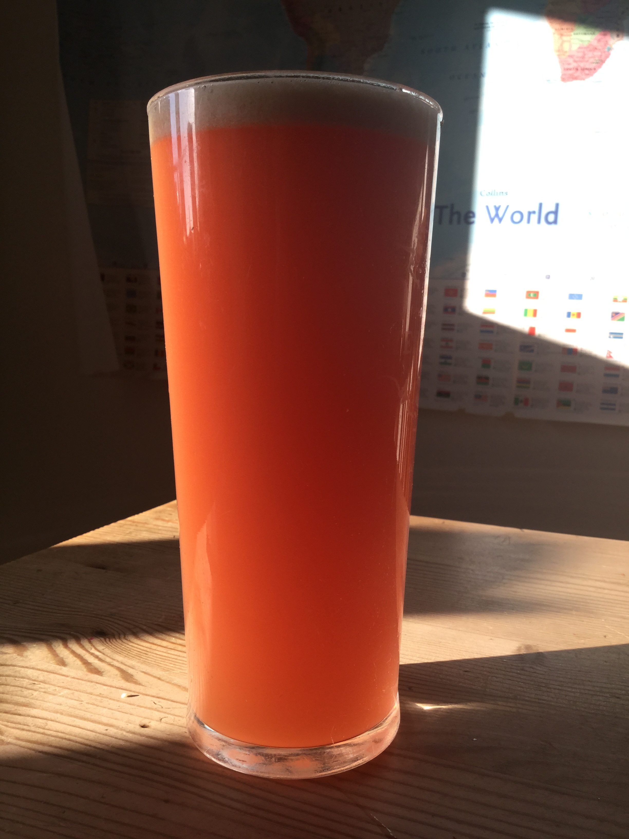 Carrot orange ginger juice