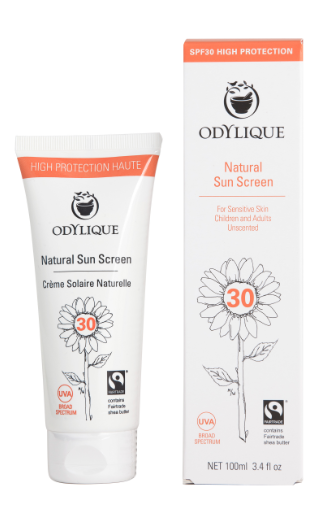 Odylique mineral suncream caring for you treatments