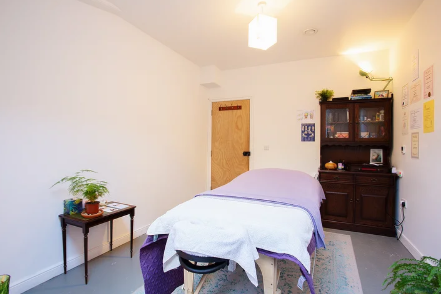 Healing treatment space